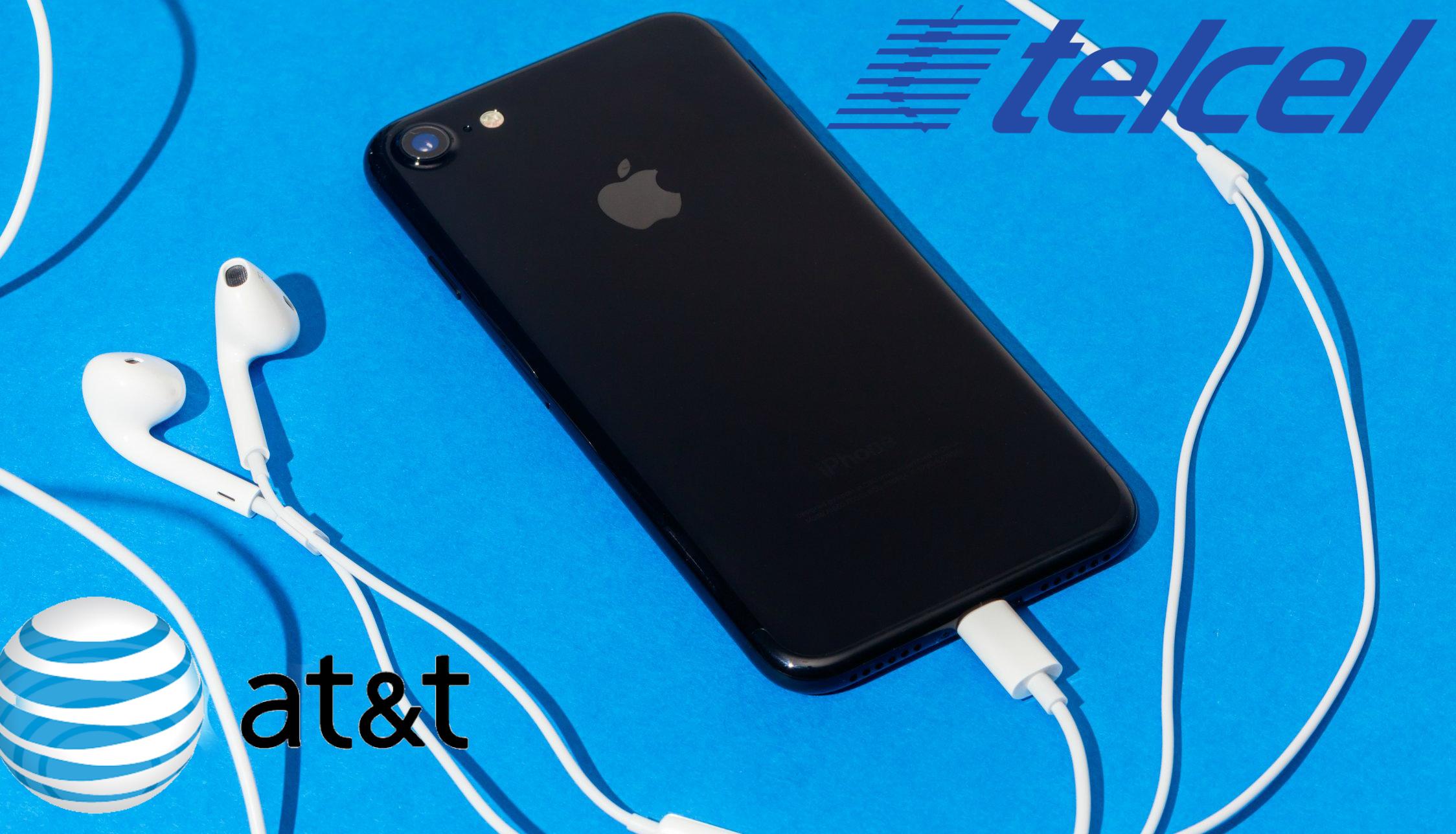 Toda la información sobre donde comprar el iPhone 7 con Telcel y AT&T