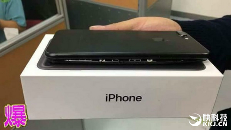 Así terminó el iPhone 7 Plus