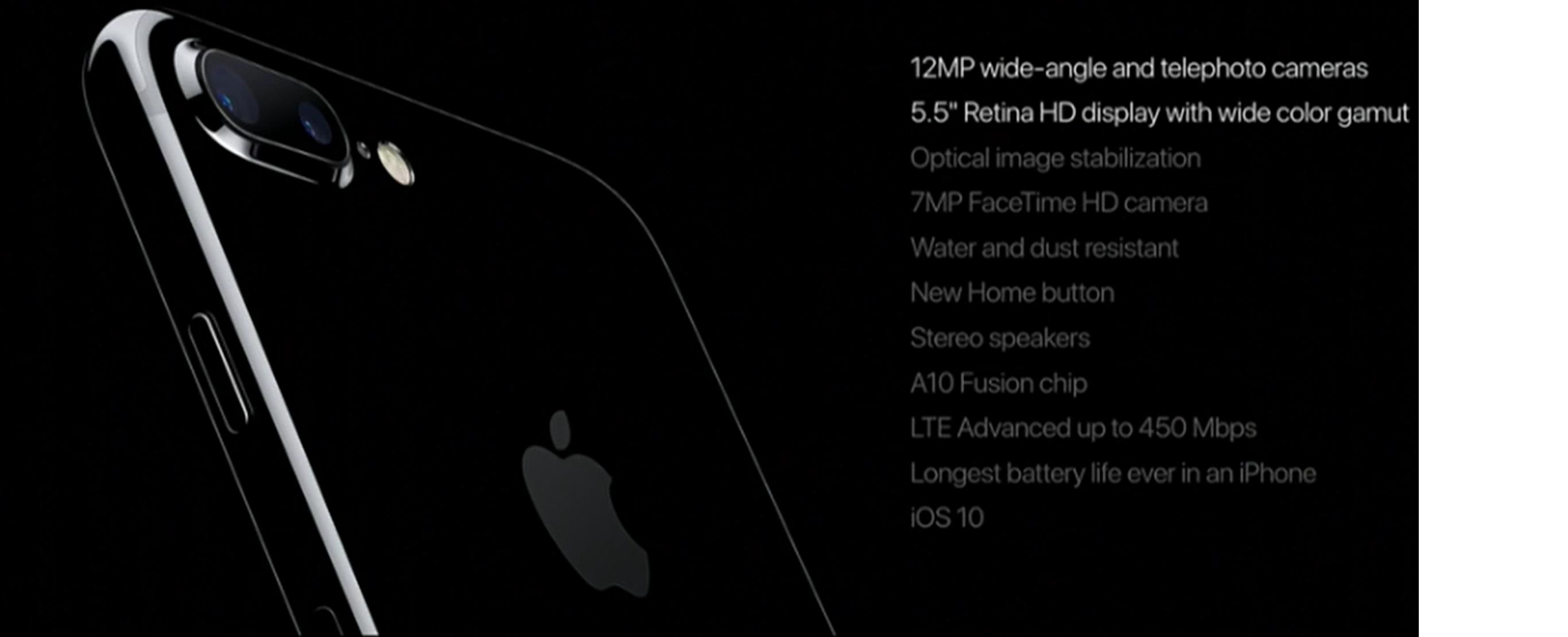 iphone 7 plus especificaciones tecnicas