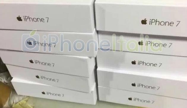 Así lucen las cajas del iPhone 7