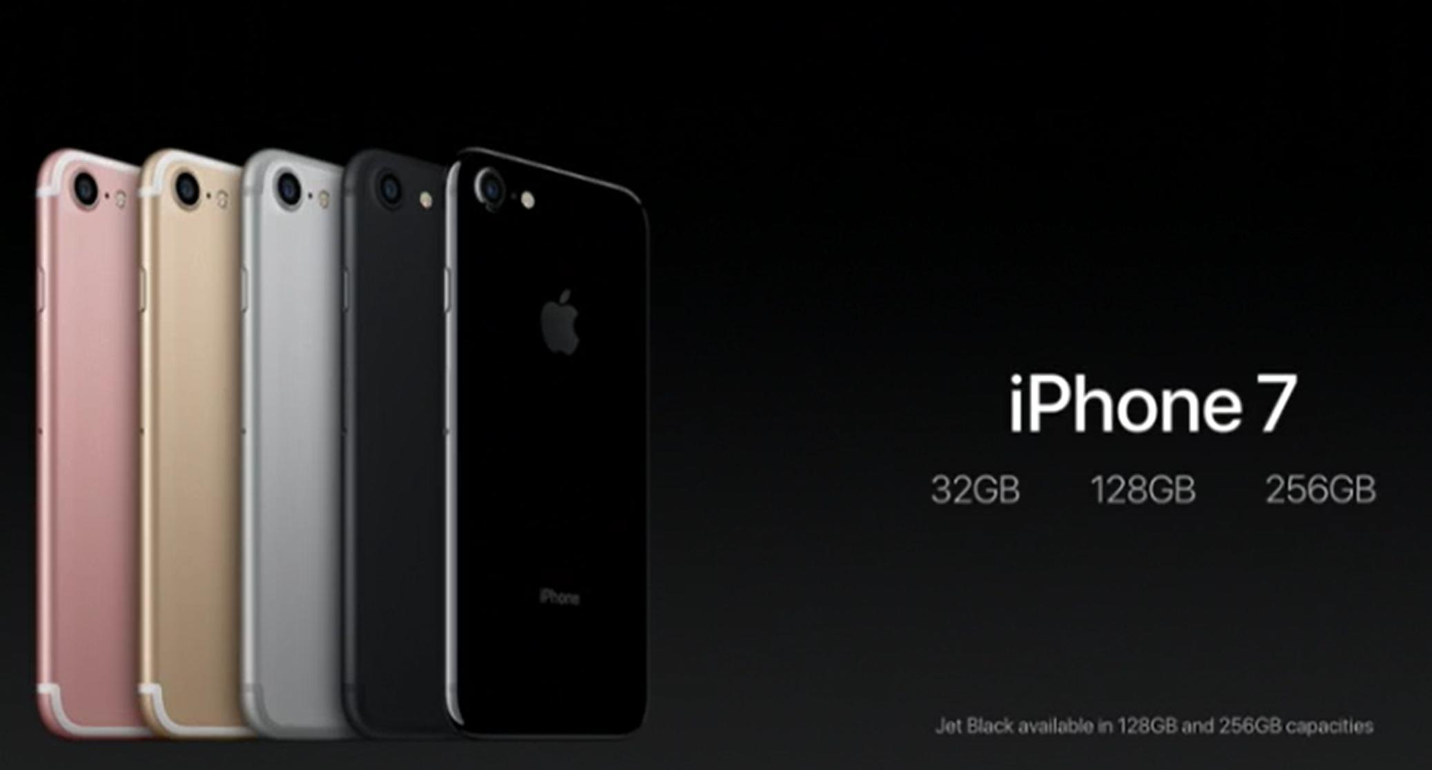 iphone capacidades