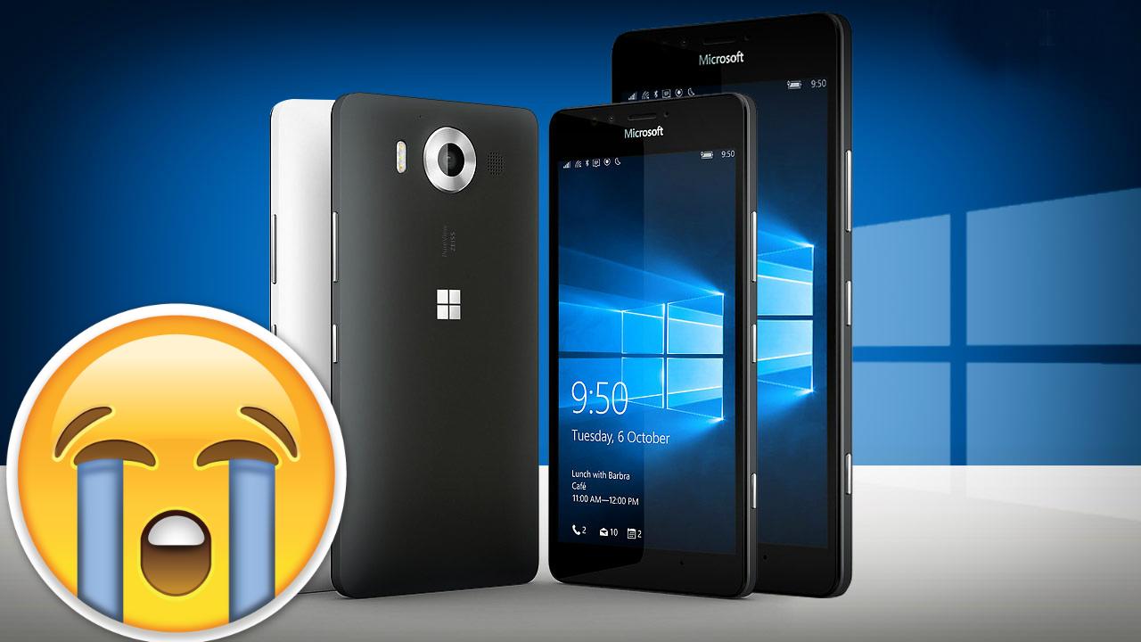 Casi adiós Lumia 950 y Lumia 950 XL