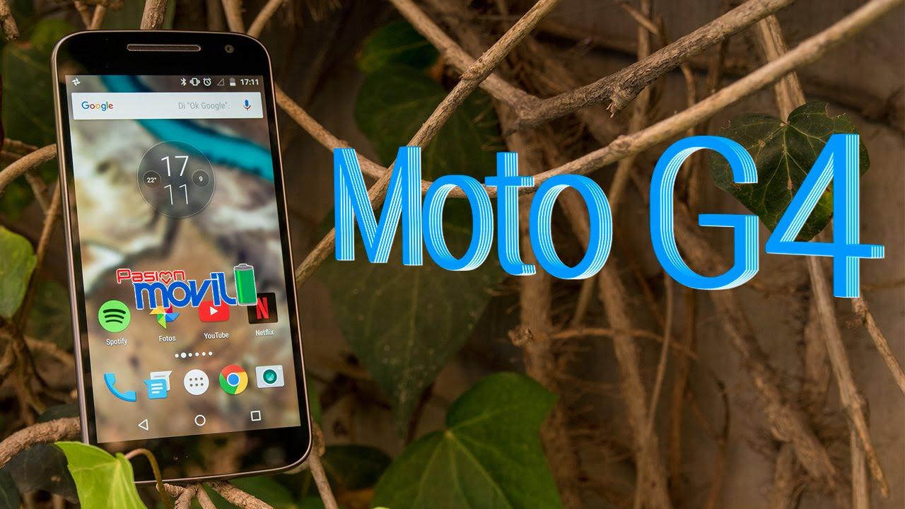 Moto G4 es un móvil bastante capaz en hardware y software