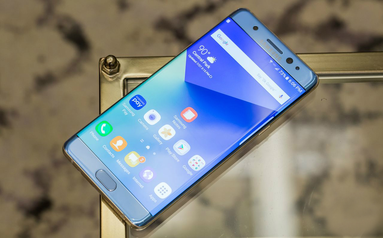 Galaxy Note 7 de China no utiliza baterías defectuosas