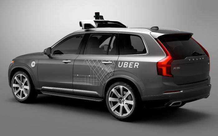 uber vehiculo autonomo