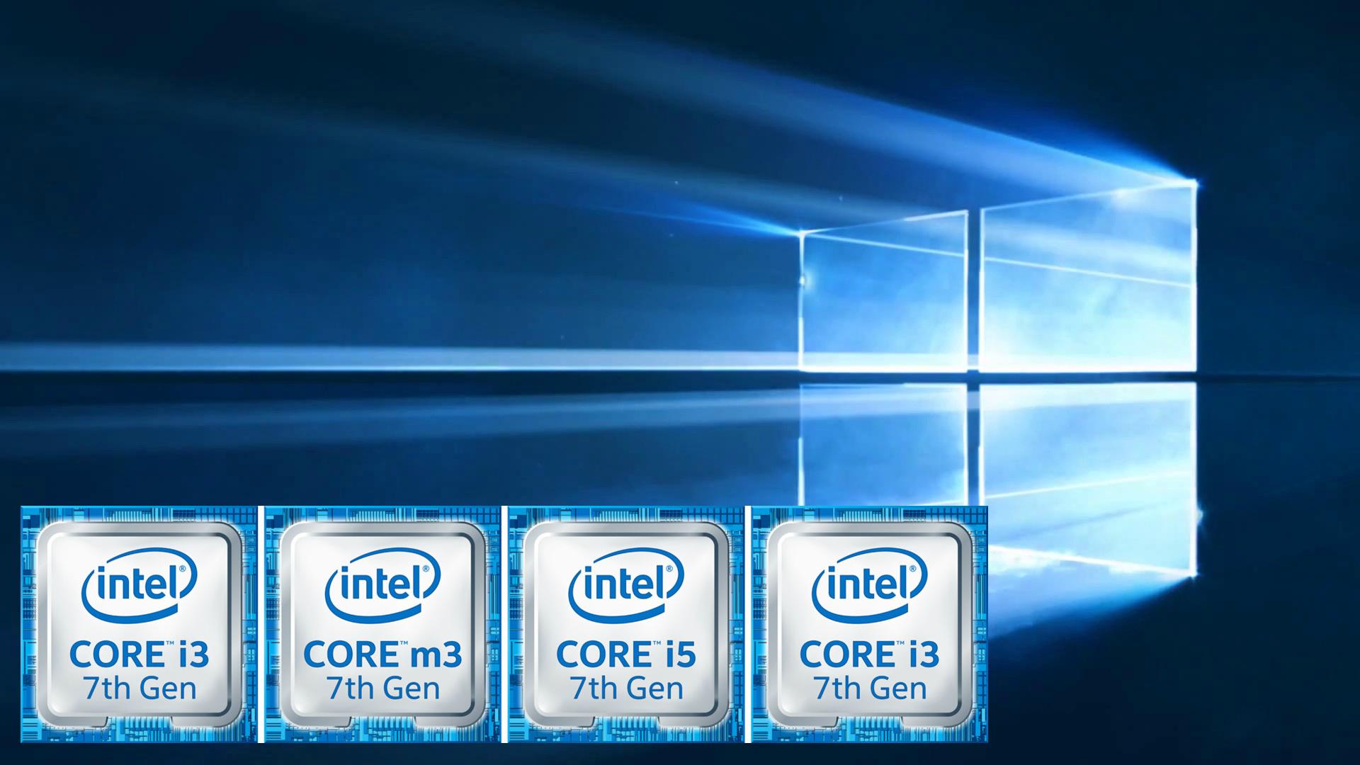 Intel Kaby Lake solamente funcionará con Windows 10