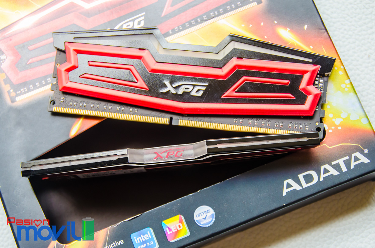 ADATA XPG Dazzle LED DDR4 disponible en frecuencias desde 2,400 hasta 3,000 MHz