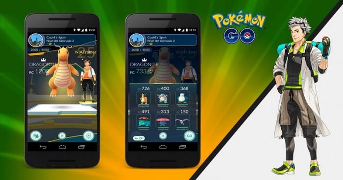 Actualización Pokémon Go 0.41.2 1
