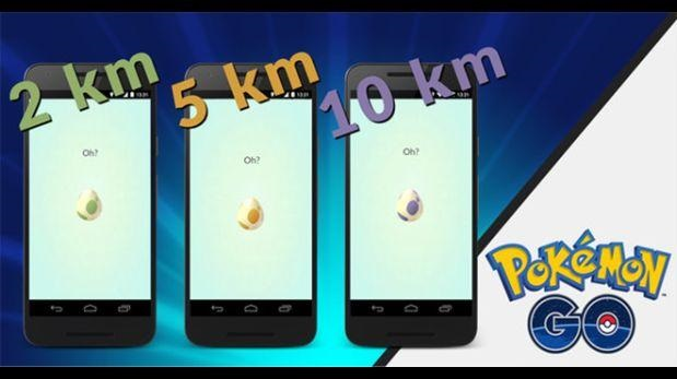 Actualización huevos Pokémon Go