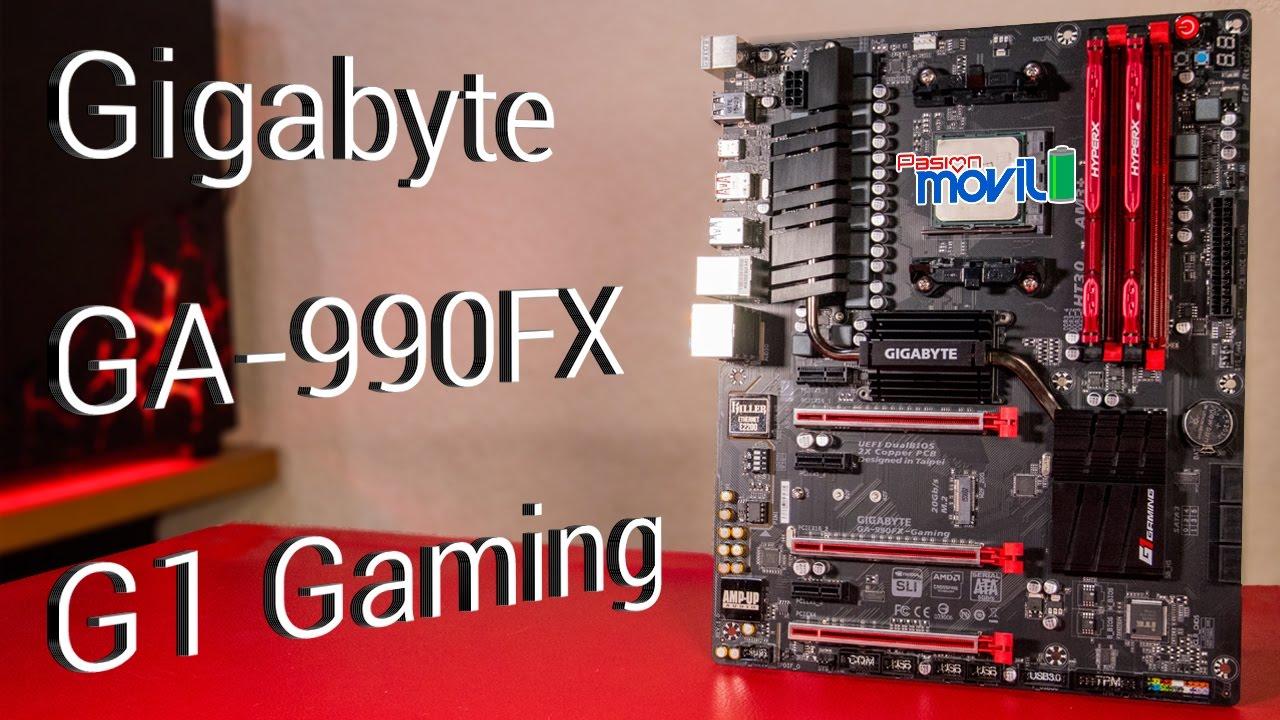 Gigabyte diseñó una excelente motherboard para procesadores AMD