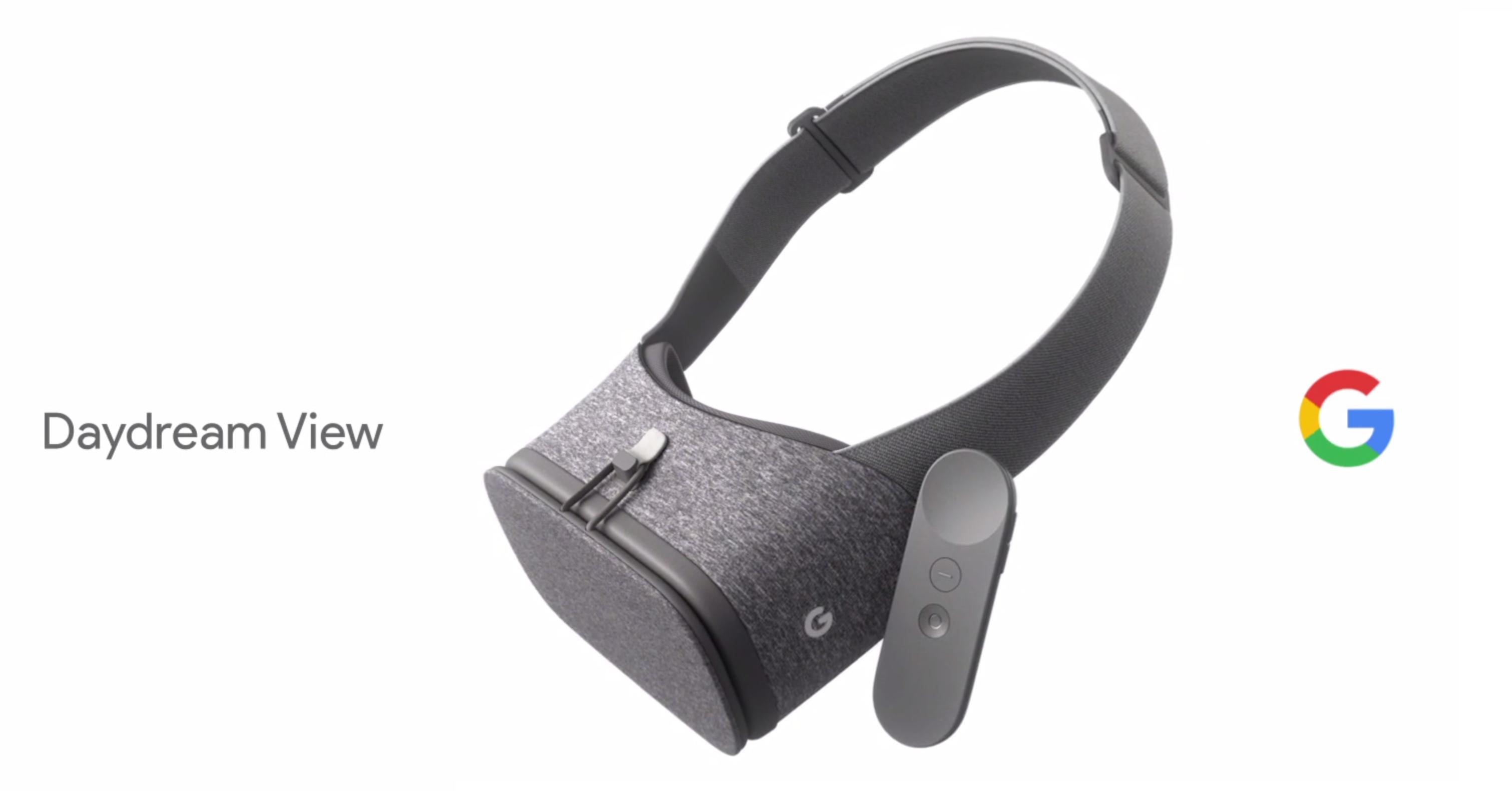 Google Daydream View viene explotar el mundo de la Realidad Virtual
