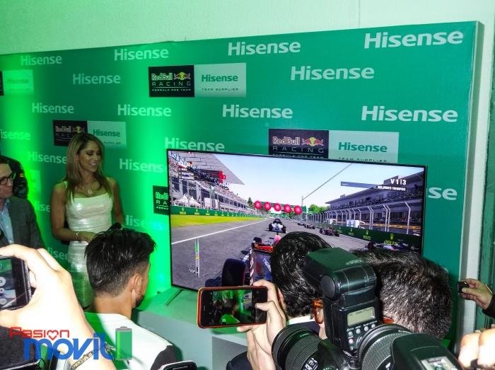 Marca Evento Hisense F1 Racing en México 27 de Octubre-16