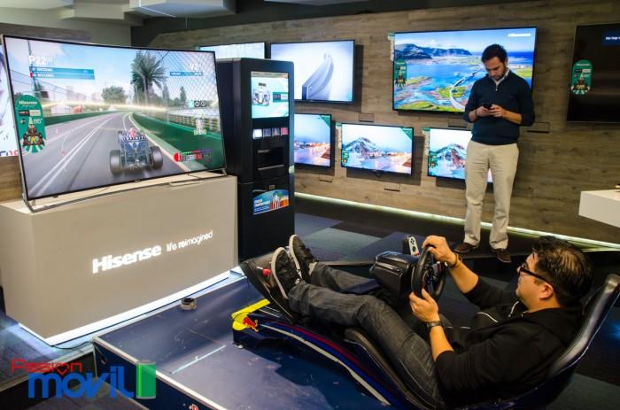 Marca Nikon Evento Hisense Simulador F1 Racing en México-7