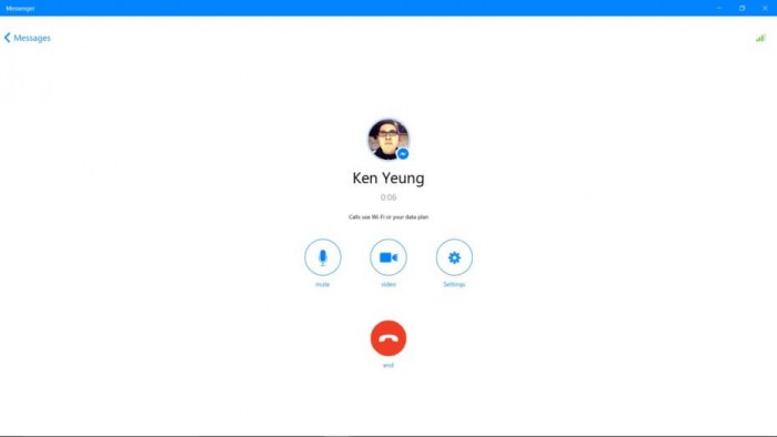 Messenger-voice-call