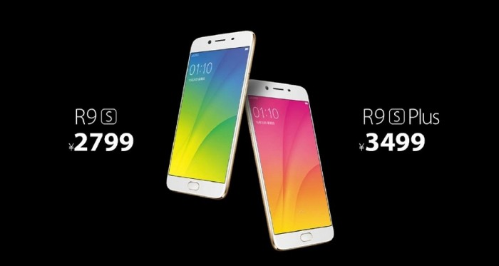 Oppo R9s y R9s Plus