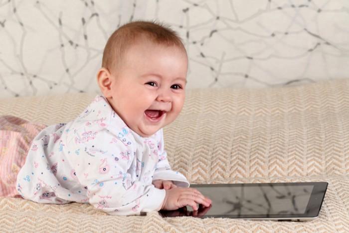 baby-con tableta