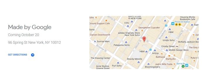direccion google store