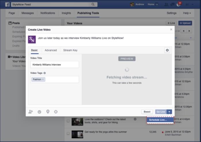 faceboo video anuncio