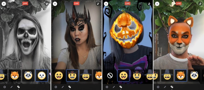 facebook-live-masks