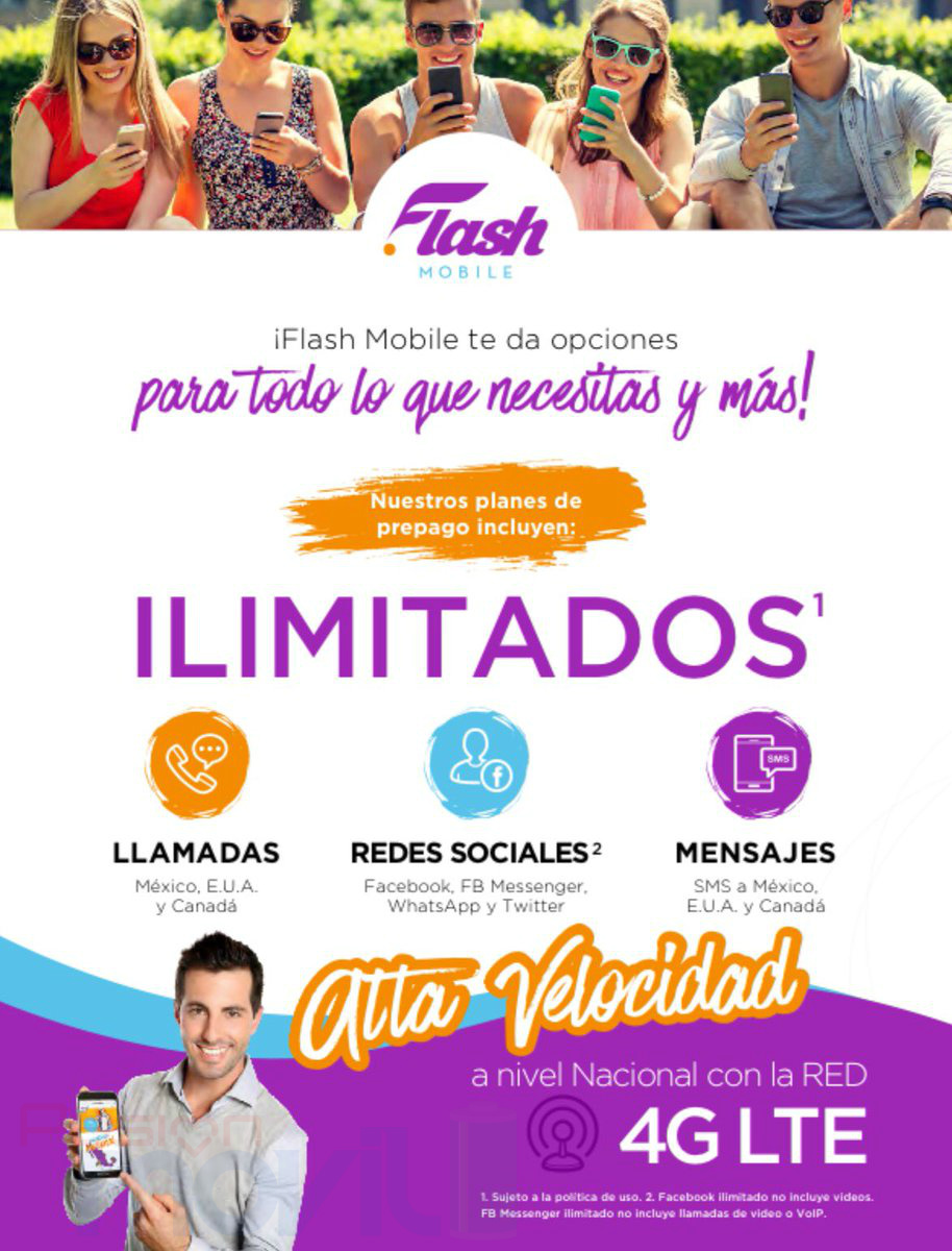flash mobile oferta comercial
