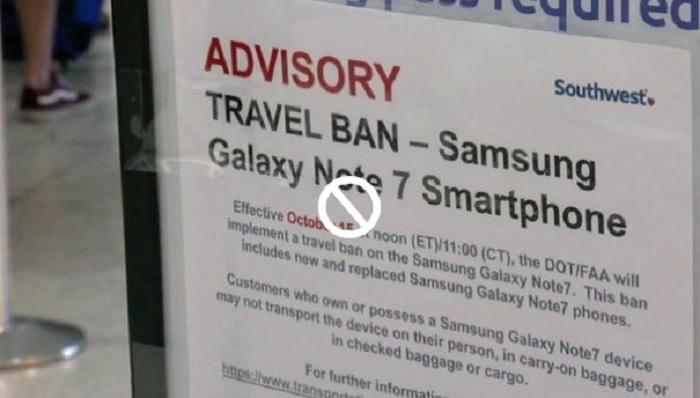 galaxy note 7 ban