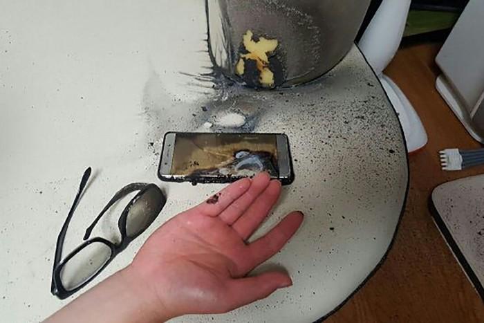 galaxy note 7 quemado mesa