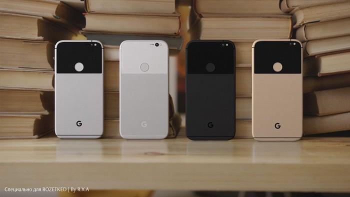 Así lucirían los nuevos Google Pixel