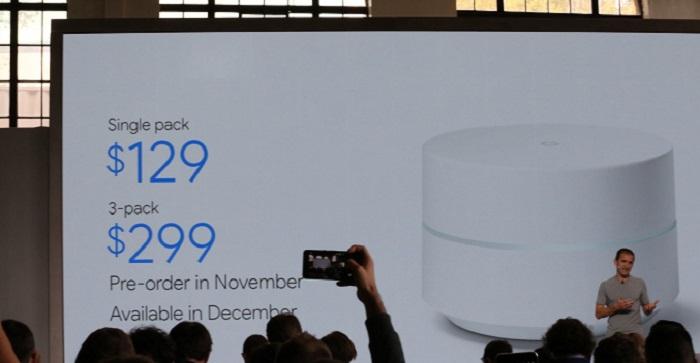 google wifi precio