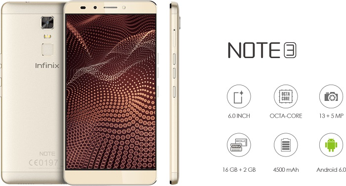 infinit note 3
