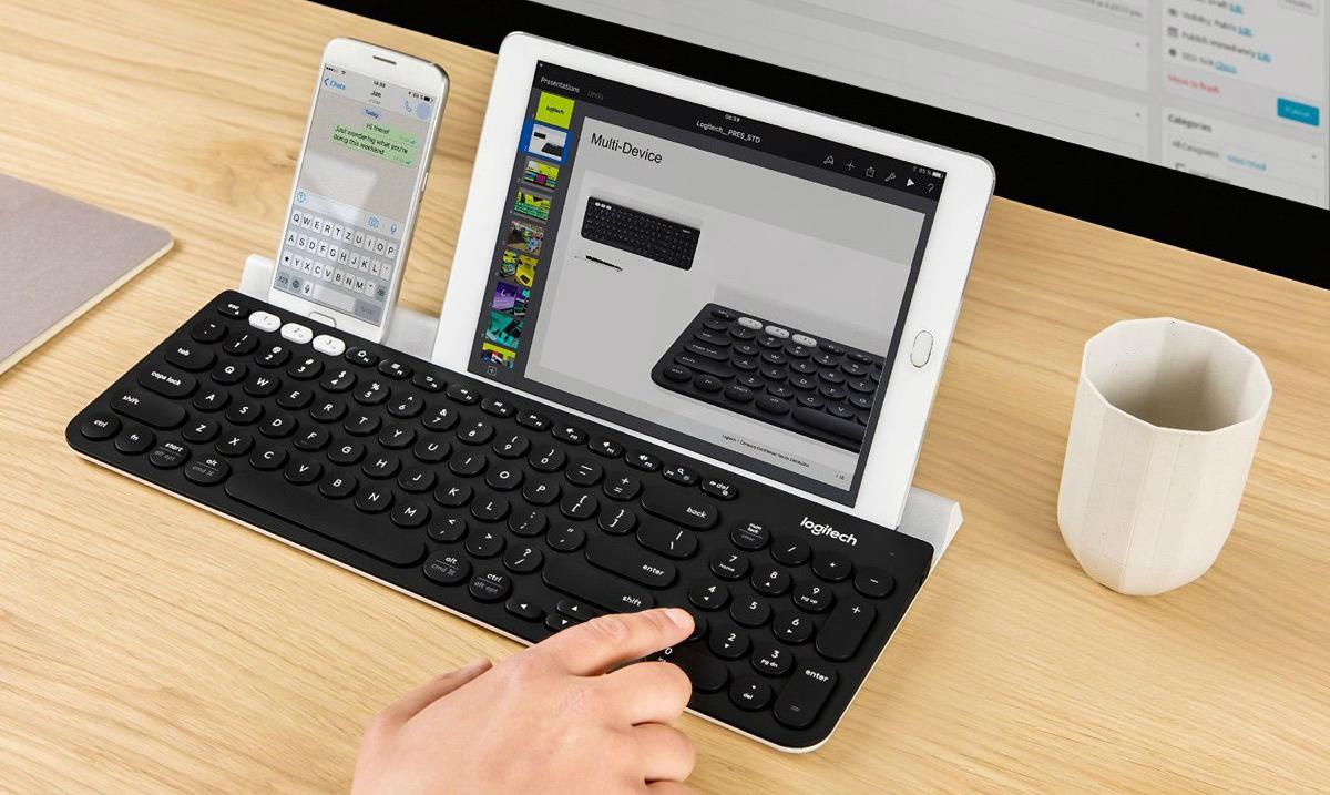 Logitech K780 es un excelente teclado inalámbrico
