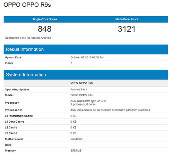 oppo r9s benchmark