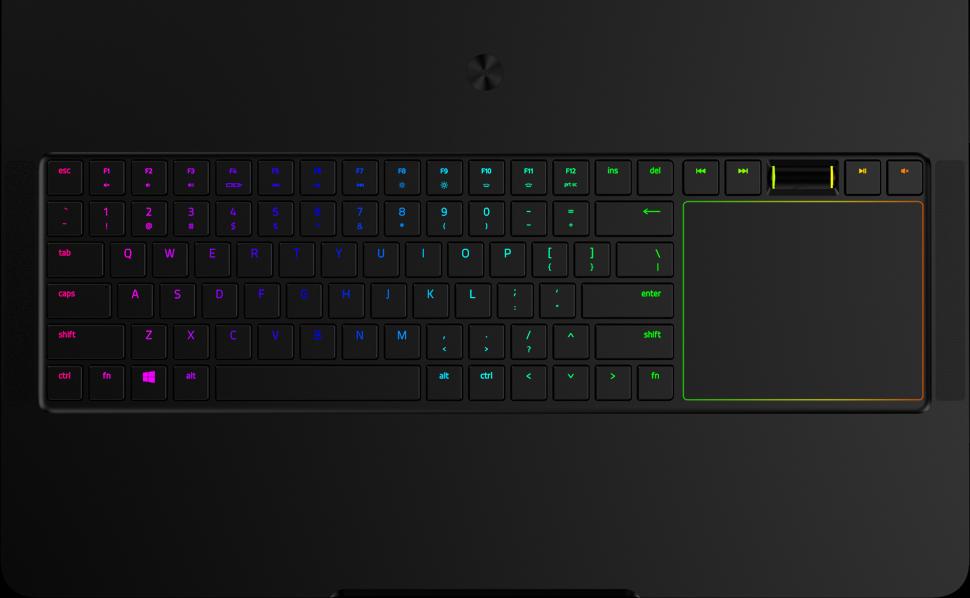 razer blade pro teclado