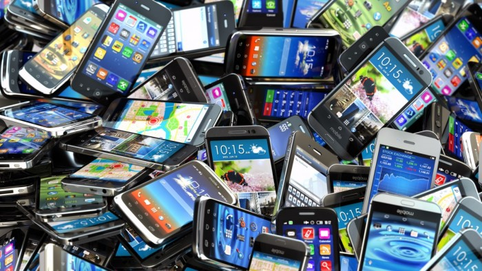 smartphones pila