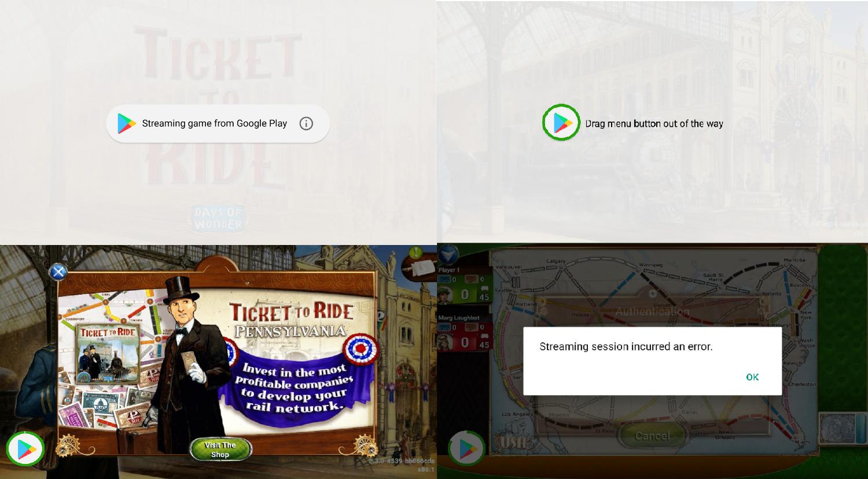 streaming juegos play store android