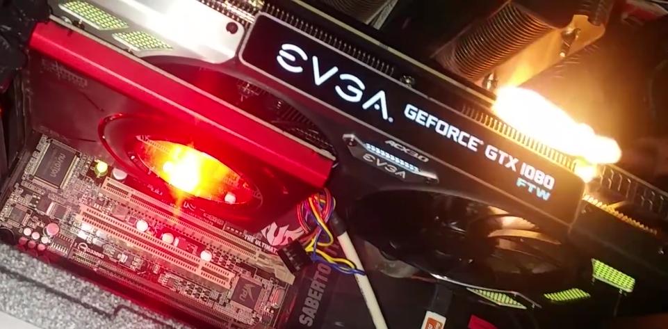 Así luce la pequeña explosión de las GPU de EVGA