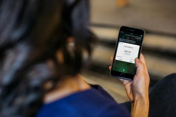 Envío de dinero con PayPal y Siri