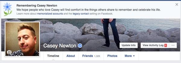 Facebook recuerda a gente que ya falleció