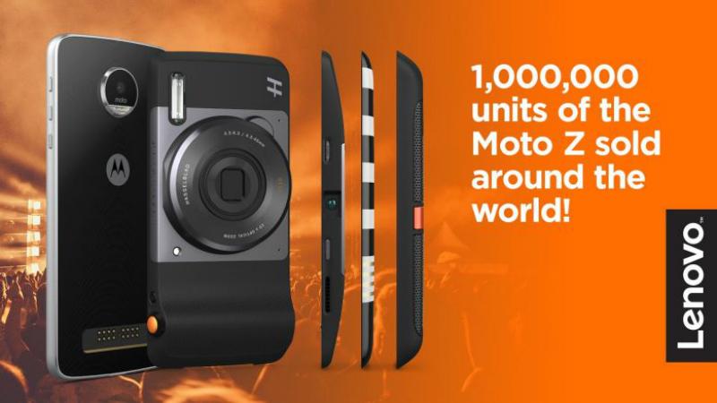 Moto Z, un millonario dispositivo en ventas