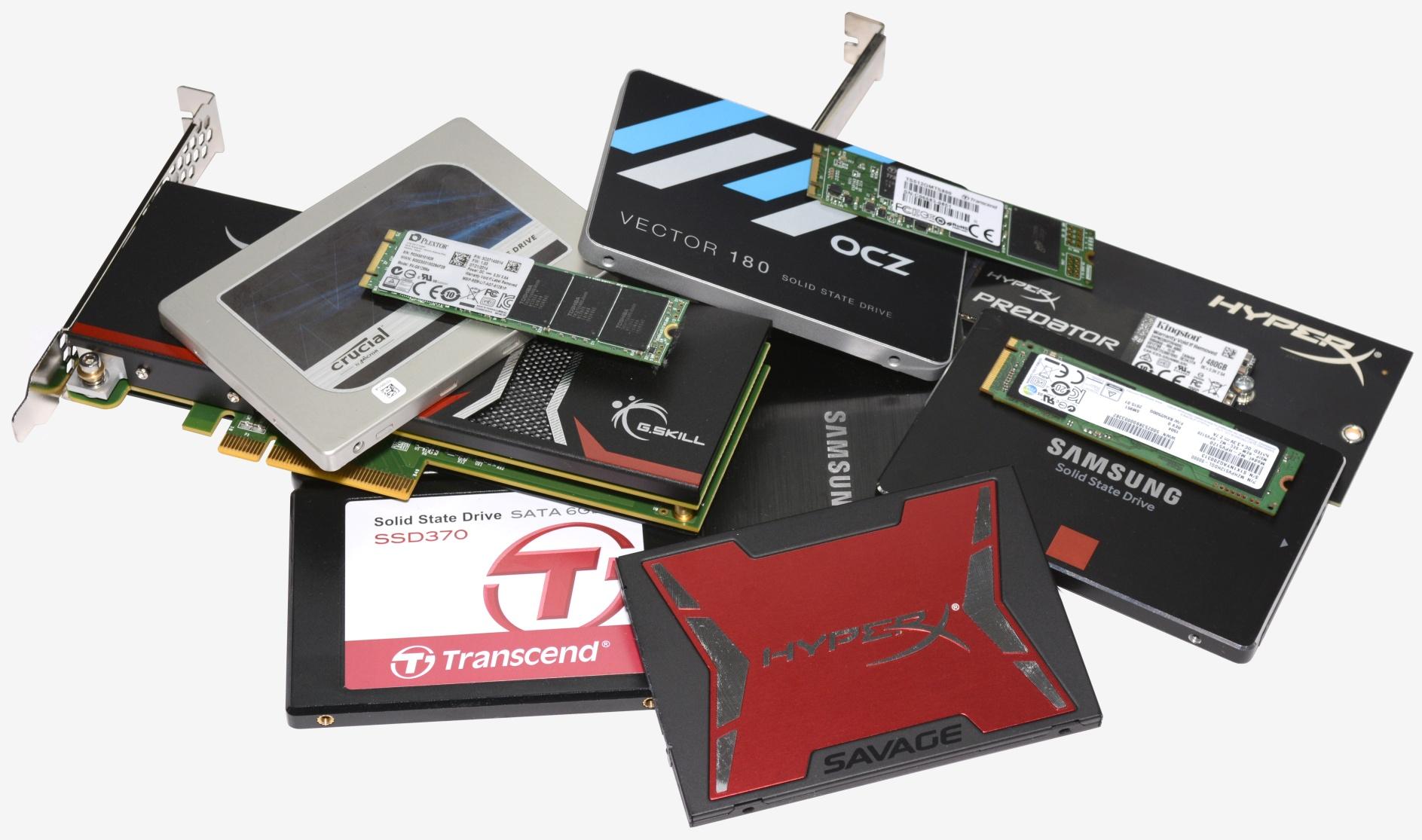 Así lucen los SSDs actuales