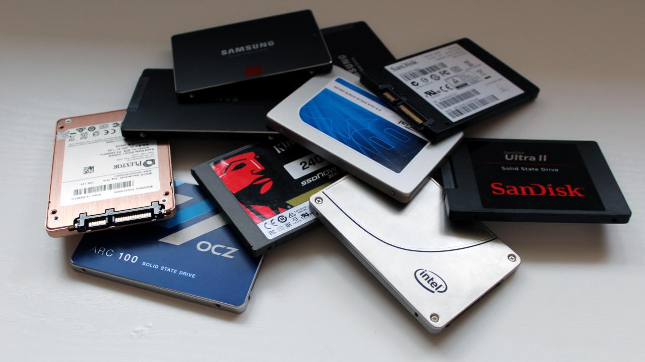 SSDs unidades de estado solido