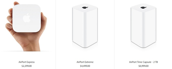 airport extreme. express y time capsule