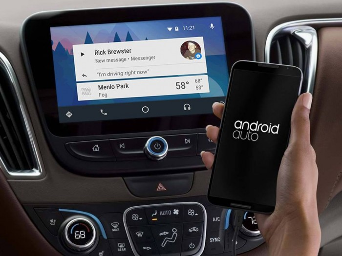 android auto facebook notificaciones