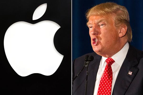 apple versus presindet usa