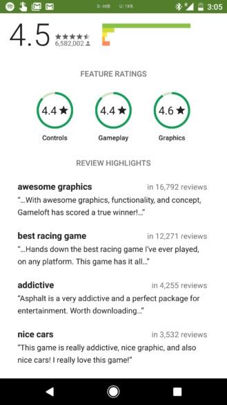 evaluar juegos