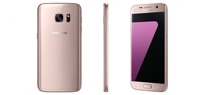 galaxy s7 rosado