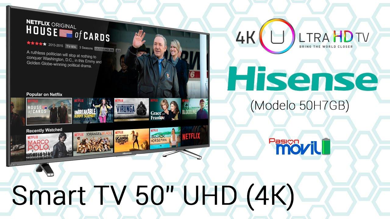Hisense presenta un excelente Smart TV
