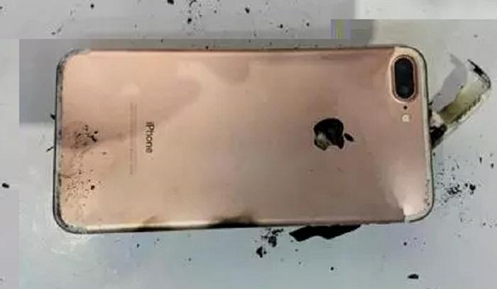 iPhone-7plus rosado quemado