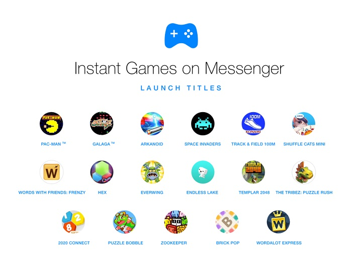 messenger juegos