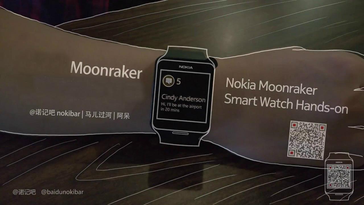 Así lucía el Nokia Moonraker