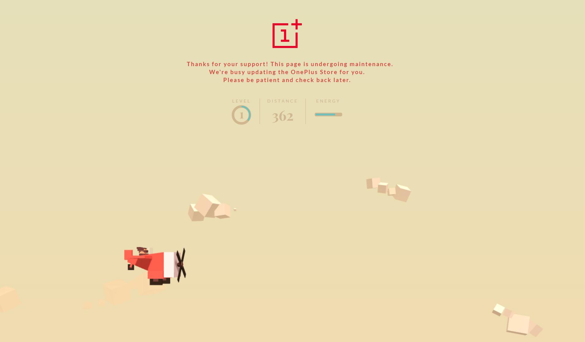 Así luce el sitio del OnePlus 3T